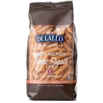 Delallo Pasta Gf Whlgrn Penne Rig -Pack of 12