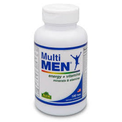Alfa Vitamins Laboratories Inc Multi Men / Vitamins and Minerals. Antioxidant. Immune System Support