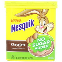 Nestle Nesquik Chocolate Powder, No Sugar Added
