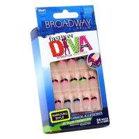 Broadway Fashion Diva Nail Kit Short Length 54034