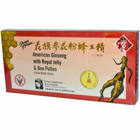 Prince of Peace American Ginseng With Royal Jelly and Bee Pollen 3.4 fl oz