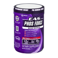 EAS Phos Force Fruit Punch Flavor Dietary Supplement