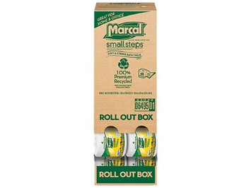 Marcal Recycled Roll Out Bathroom Tissue (Case of 48)