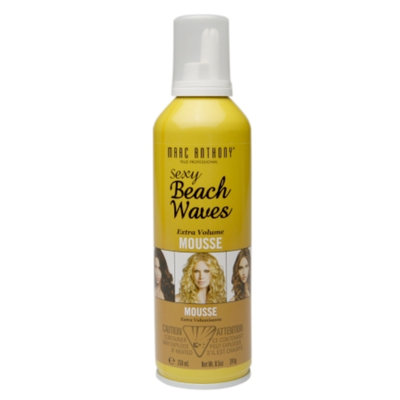 Marc Anthony True Professional Dream Waves Sexy Beach Waves Mousse, 8.5 fl oz