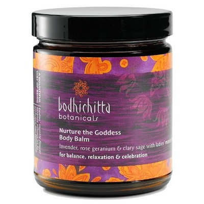 Bodhichitta Botanicals Nurture The Goddess Body Balm, 8 Ounce