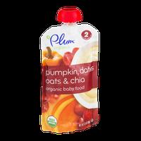 Plum Organics Pumpkin, Dates Oats & Chia Stage 2
