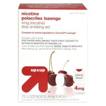Up & Up Nicolozenge 4MG Cherry - 72 Count