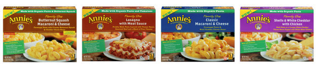Annie's® Homegrown Annie's Family Size Frozen Entrees