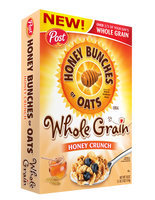 Honey Bunches Of Oats Whole Grain Honey Crunch