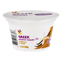 Ahold Greek Nonfat Yogurt Vanilla
