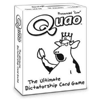 Wiggity Bang Quao The Ultimate Dictatorship Card Game Ages 12+, 1 ea