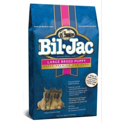 BIL-JAC 319011 Large Breed Puppy Dry Food, 30-Pound