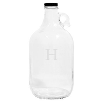 Cathy's Concepts Personalized Monogram Craft Beer Growler - H