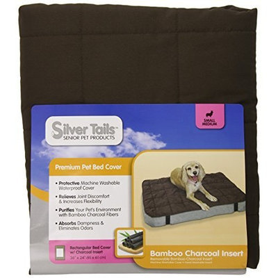 Quaker Pet Group Silver Tails Bamboo Charcoal Bed Cover Small/Medium