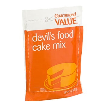 Guaranteed Value Devil's Food Cake Mix