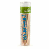 Preserve Products Preserve Flavored Toothpicks Mint Tea Tree 35 Pieces Case of 24