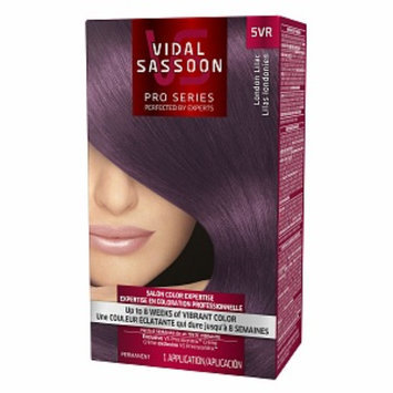 Vidal Sassoon Pro Series Hair Color, 5VR London Lilac, 1 kit