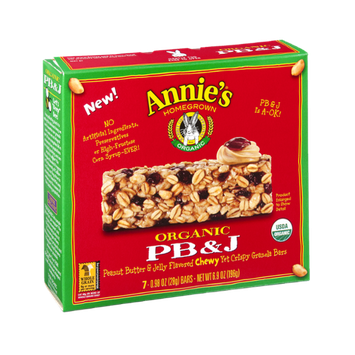 Annie's® Homegrown Organic Granola Bars Organic