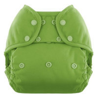 Blueberry Coveralls Diaper Snap, Kiwi (Discontinued by Manufacturer)