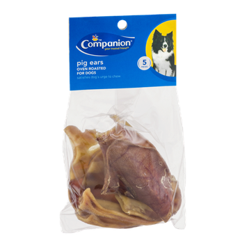 Companion Pig Ears - 5 CT