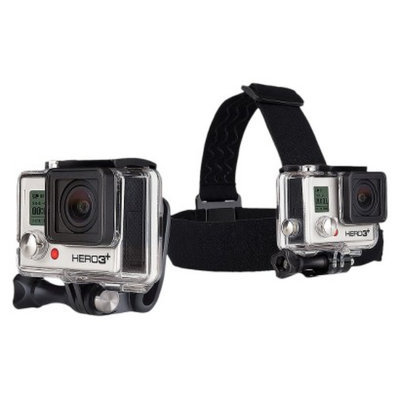 GoPro Headstrap and Quickclip - Black/Silver (ACHOM-001)