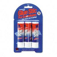 Avery Glue Stic for Envelopes, .26oz, Stick, Three/Pack