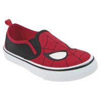 Toddler Boy's Spiderman Canvas Sneakers - Red 7
