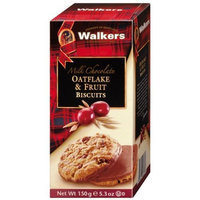 Walkers Milk Choc Oatflake & Fruit Cookies - 5.3 oz