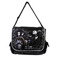 Toys One Nightmare Before Christmas Jack Skellington Messenger Bag
