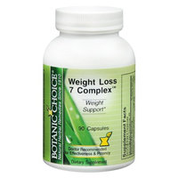 Botanic Choice Weight Loss 7 Complex Dietary Supplement Capsules