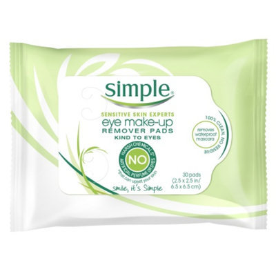 Simple® Eye Makeup Remover Pads