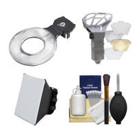 Ray Flash Universal Ring Flash Adapter (Large) with Diffusers & Cleaning Kit