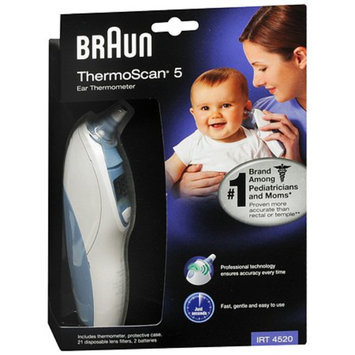 Braun Thermoscan Ear Thermometer - White and Blue