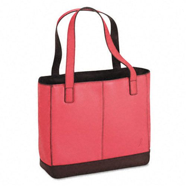 Day-timer Day-Timer DTM48420 Pink Ribbon Leather Tote