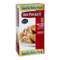 Hot Pockets Philly Steak & Cheese Sandwiches- 12 CT