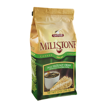 Millstone Decaf Hazelnut Cream Ground Coffee