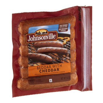 Johnsonville Beddar with Cheddar Smoked Sausage - 6 CT