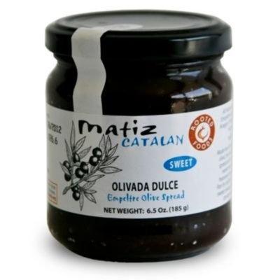 Matiz Olivada Dulce - Sweet Black Empeltre Olive Spread (6.5 oz/185 g)