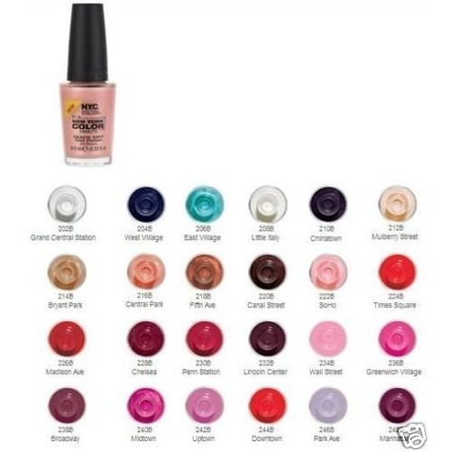 N.Y.C. New York Color Minute Quick Dry Nail Polish,
