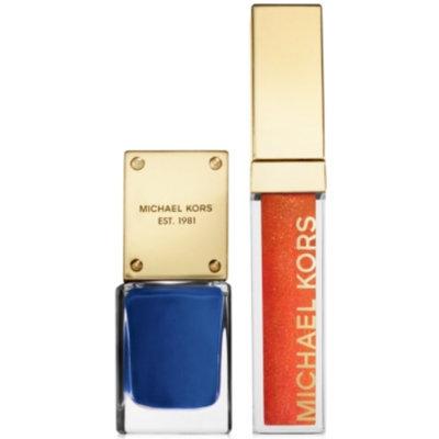 Michael Kors Glam Collection Lip Luster & Nail Gift Set