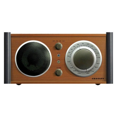 Crosley Audiophile AM/FM Receiver with Analog Tuner - Brown (CR3018A-