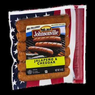 Johnsonville® Smoked Sausage Jalapeno & Cheddar