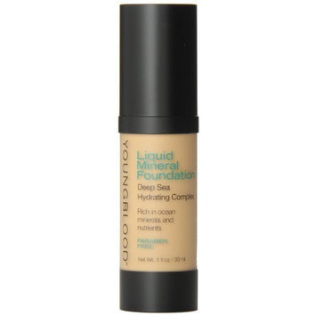 Youngblood Mineral Cosmetics Youngblood Liquid Mineral Foundation, Golden Tan, 1 Ounce