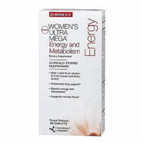 GNC Women's Ultra Mega Energy & Metabolism Multivitamin