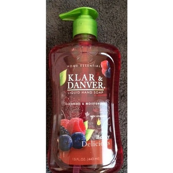 Home Essentials LIQUID HAND SOAP 15 OZ. (Berry Delicious)