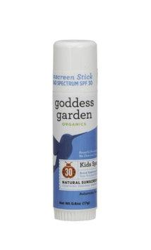 Kids Sport SPF 30 Natural Sunscreen Stick Goddess Garden 0.6 oz Cream