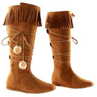 Buy Seasons Dakota Tan Adult Boots - 8.0