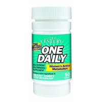 21st Century One Daily Women's Active Metabolism Tablets, 50-Count