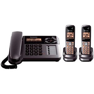 Panasonic Kx-Tg1062M Dect 6.0 Corded/Cordless Phone Caller Id Digital Answering System