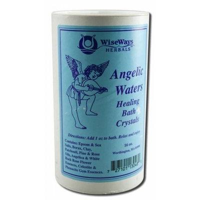 Wise Ways Herbals Bath Salts Angelic Waters 16 Ounces